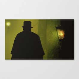With Malice Aforethought Canvas Print