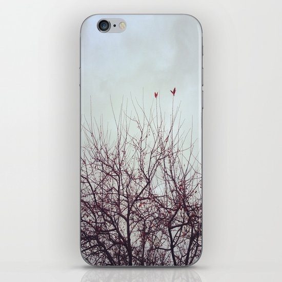 Winter's Breath iPhone & iPod Skin