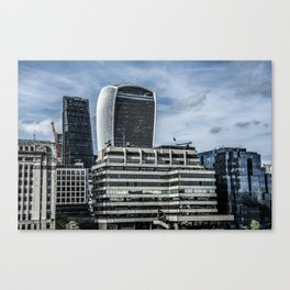 London Walkie Talkie Building and Cheese Grater Building Canvas Print