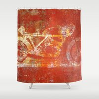 metal Shower Curtains featuring Metal Speed by Fernando Vieira