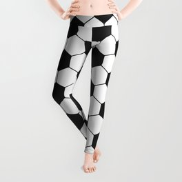 Soccer ball pattern Leggings