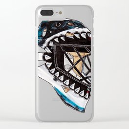 Heyward - Mask Clear iPhone Case