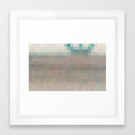 ABSTRACT PIXELS #0016 Framed Art Print