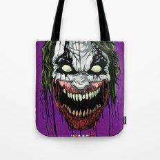Joker Zombie Tote Bag