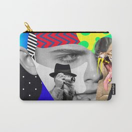 Shaughnessy Brown By Sebas Rivas Carry-All Pouch