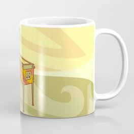Retro games pinball machine Coffee Mug