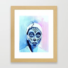 Muertos Me Framed Art Print