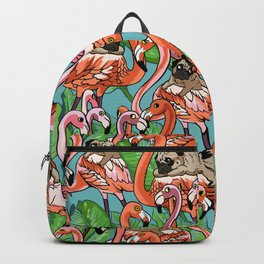 Flamingo Party Backpack