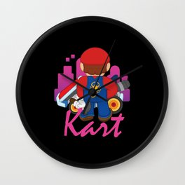 Kart / Drive Wall Clock