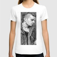 matty healy T-shirts featuring Matty Healy by rachelmbrady_art