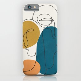 Abstract Faces 26 iPhone Case