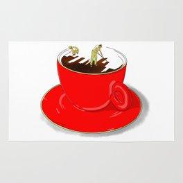 Paint My Coffee Rug