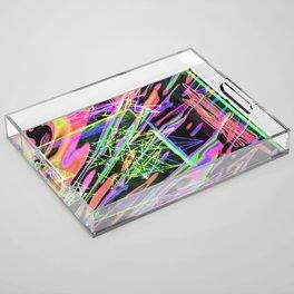 light waves Acrylic Tray