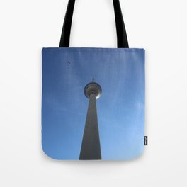 Birdy Television Tower Berlin Tote Bag