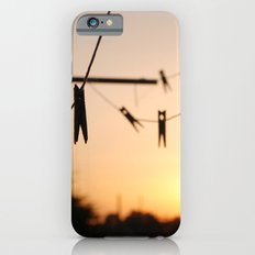 Swallows on a wire Slim Case iPhone 6s
