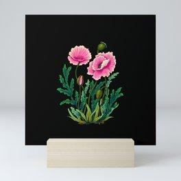 Minhwa: Poppy: Opera B Type  Mini Art Print