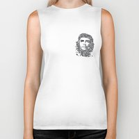 che Biker Tanks featuring Che by Rucifer