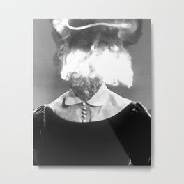 Bomb Metal Print