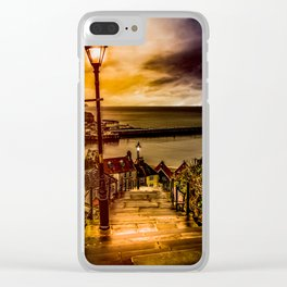 Lighting the Way Clear iPhone Case