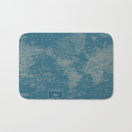 The World According to US Bath Mat