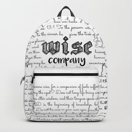 Wise Company Backpack