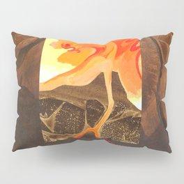 Mount Tongariro  Volcano Spirit Pillow Sham