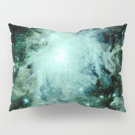Orion neBUla. : Green Pillow Sham
