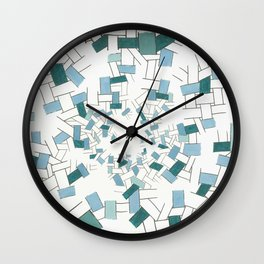 At The Bottom Of The Ocean Wall Clock