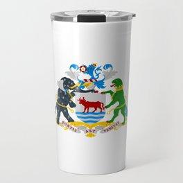 flag of Oxford Travel Mug