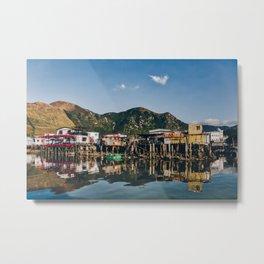 Stilt Houses in Tai O Metal Print
