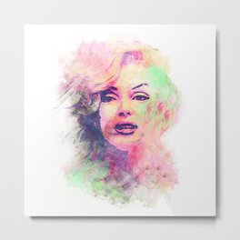 Marylin Metal Print