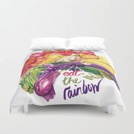 Eat The Rainbow Duvet Cover