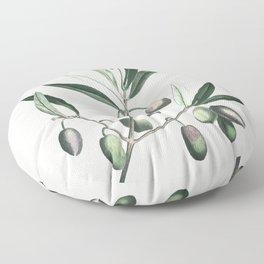 Olive Tree Branch Floor Pillow