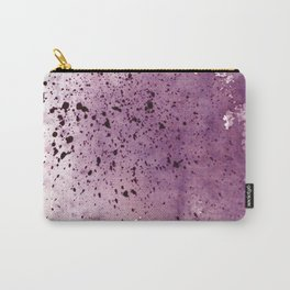 splattering red-gray Carry-All Pouch