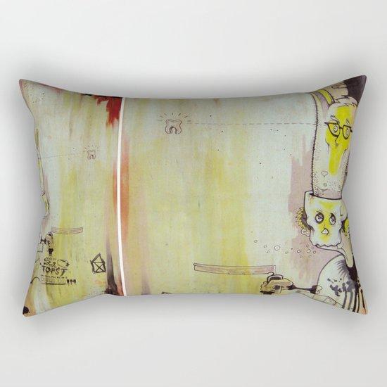 Deathy By Fresh Toast Rectangular Pillow