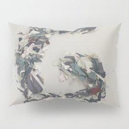 Letter G in Paint Pillow Sham