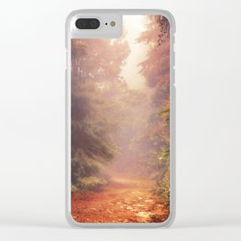 Back into the Fall Clear iPhone Case