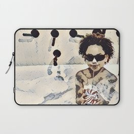 Happiness of a Mixologist  Laptop Sleeve