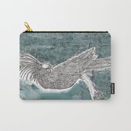 Blue Cockatoo Carry-All Pouch