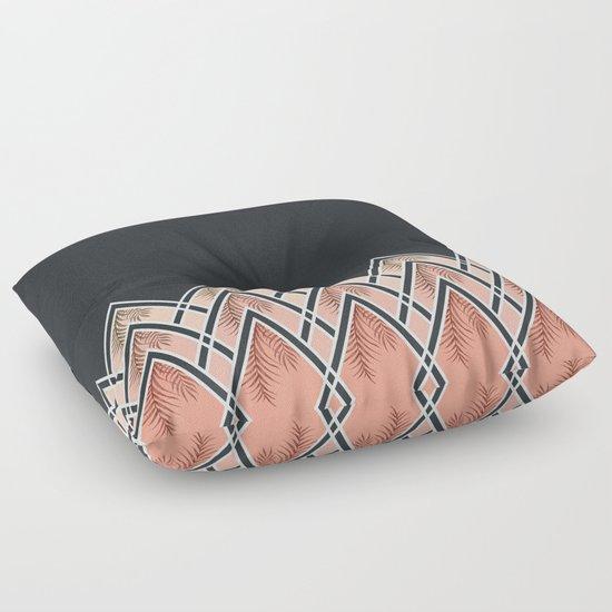 Floor Pillows Society6 : Pink D?co Mountains #society6 #buyart Floor Pillow by DesigndN Society6