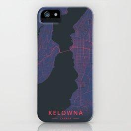 Kelowna, Canada - Neon iPhone Case