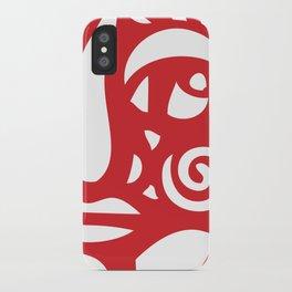 Cara Roja iPhone Case