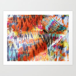 silk forms Art Print