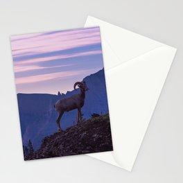 Bighorn At Sunrise Stationery Cards