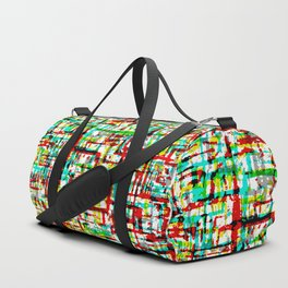 Mid-century Pattern #199 (Pollock) Duffle Bag