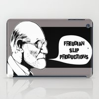 freud iPad Cases featuring Freud by Freudian Slip Producions