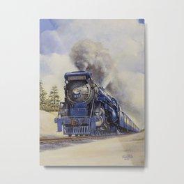 The Seashore's Finest Train Metal Print
