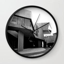 MAXXI Museum Zaha Hadid   Roma - Italy #architecture Wall Clock