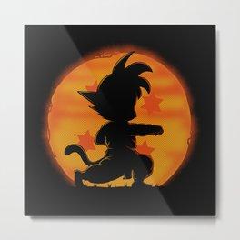 Goku by night Metal Print
