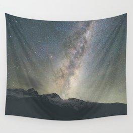 Stars over Mount Aspiring Wall Tapestry